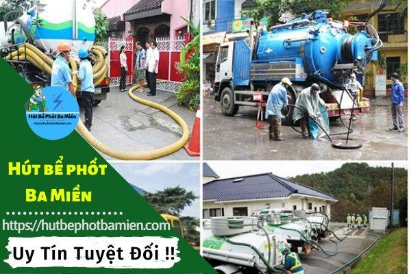 Hút hầm cầu giá rẻ nhất Đồng Nai