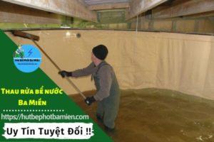 Thau rửa vệ sinh bể nước tại Quận Bình Tân