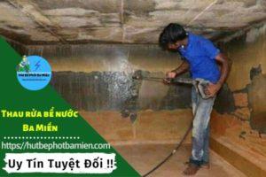 Thau rửa vệ sinh bể nước tại Huyện Nhà Bè