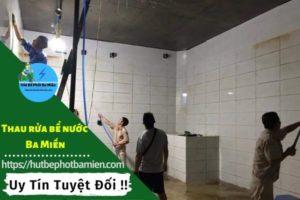 Thau rửa vệ sinh bể nước tại Huyện Hóc Môn