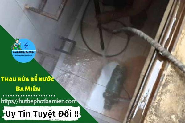 Thau rửa vệ sinh bể nước tại Huyện Củ Chi