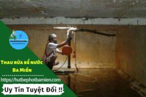 Thau rửa vệ sinh bể nước tại Bình Thạnh