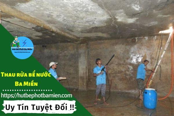 Thau rửa vệ sinh bể nước tại Quận Gò Vấp