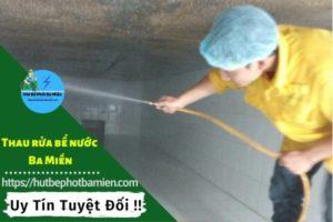 Thau rửa vệ sinh bể nước tại Quận Phú Nhuận