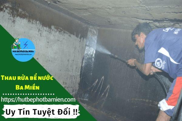 Thau rửa vệ sinh bể nước tại Quận Tân Bình