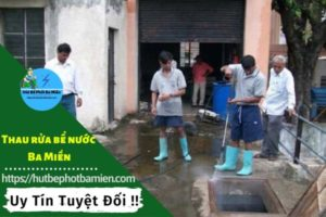 Thau rửa vệ sinh bể nước tại Quận Thủ Đức