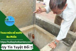 Thau rửa vệ sinh bể nước tại Huyện Bình Chánh